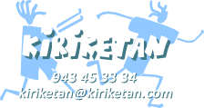 Kiriketan: organizamos colonias abiertas y actividades de tiempo libre para niños